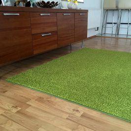 Vopi Koberec SHAGGY zelený 60 x 110 cm