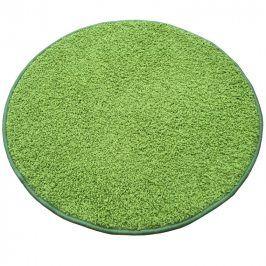 Vopi Kulatý koberec SHAGGY zelený průměr - 120 cm