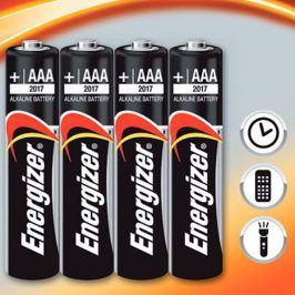 ENERGIZER alkalická baterie Energizer LR03 Mikrotužka AAA BL4