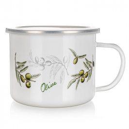 BANQUET Smaltovaný hrnek 0,5 l Olives