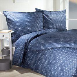 Hermann Cotton Bavlněné  povlečení Hermína modrá 140 x 200 cm, 70 x 90 cm