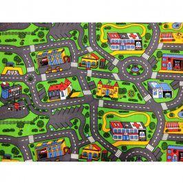 Vopi Dětský koberec MĚSTO 80 x 120 cm