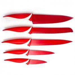 BANQUET 5 dílná sada nožů s nepřilnavým povrchem, SYMBIO Rosso