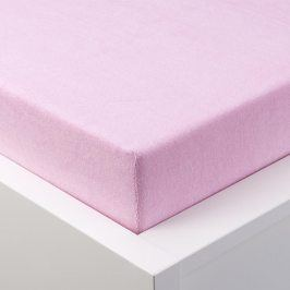 Hermann Cotton Napínací prostěradlo froté EXCLUSIVE růžová 90 - 100 x 200 cm