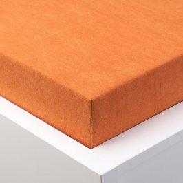 Hermann Cotton Napínací prostěradlo froté EXCLUSIVE broskvová 90 - 100 x 200 cm