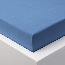 Hermann Cotton Napínací prostěradlo jersey EXCLUSIVE královská modrá 180 x 200 cm