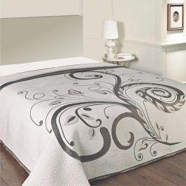 Forbyt Přehoz na postel DOMINIC BLACK 90 - 100 x 200 cm