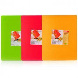 BANQUET Prkénko krájecí plastové 37x29,4x0,23 cm Culinaria Plastia Colore