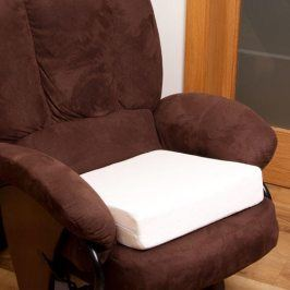 Zvýšený sedák na židli