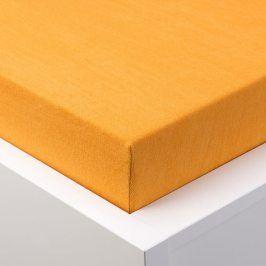 Hermann Cotton Napínací prostěradlo froté EXCLUSIVE oranžová 180 x 200 cm
