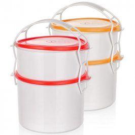BANQUET 2-dílný plastový jídlonosič APETIT
