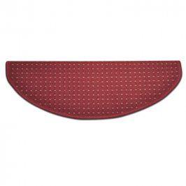 Vopi Koberec na schody půlkruh BIRMINGHAM červený 25 x 65 cm