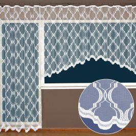 Hotová žakárová záclona Judita - balkonový komplet