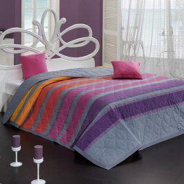 BedTex Tip Trade Přehoz na postel Susan fialový