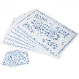 BANQUET 12-dílná sada plastového prostírání ONION 12CF43285SET
