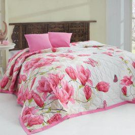 Tip Trade Přehoz na postel Alize Pink růžová 220 x 240 cm