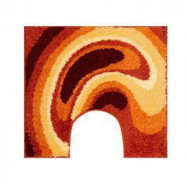 Grund Koupelnová předložka GOBE oranžová 55 x 50 cm