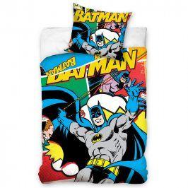 Tip Trade Bavlněné  povlečení Batman komiks 140 x 200 cm, 70 x 90 cm