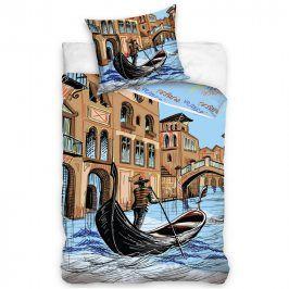 Tip Trade Bavlněné povlečení Venice  povlečení Benátky 140 x 200 cm, 70 x 90 cm