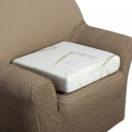 decoDoma Zvýšený sedák Bamboo Comfort