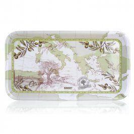 BANQUET Melaminový sandwich tác Olives