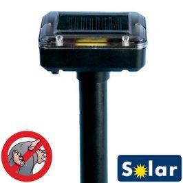 Solární odpuzovač krtků
