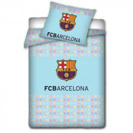 Tip Trade Dětské bavlněné povlečení do postýlky FC Barcelona 90 x 130 cm, 40 x 60 cm