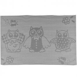 BANQUET Prostírání 45x30 cm OWL šedá