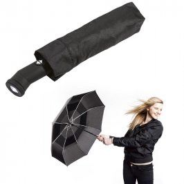Skládací deštník odolný proti větru