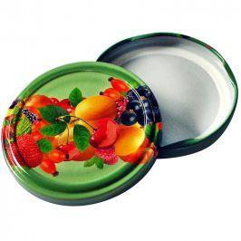 Víčko na zavařovací sklenice 10ks, 66mm, motiv ovoce (3175066)