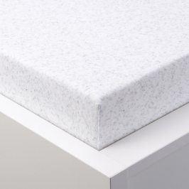 Hermann Cotton napínací froté prostěradlo melé bílá 90 - 100 x 200 cm