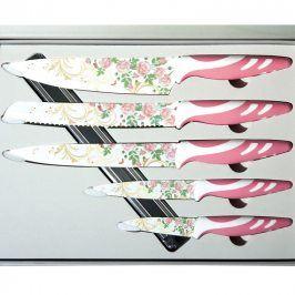 BANQUET 5 dílná sada nožů s nepřilnavým povrchem, Prisma Rossata 25LI008515