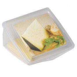 FAVE Plastová dóza na sýr 13,5 x 12,5 x 8 cm