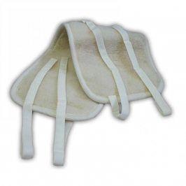 Ovčí věci Oboustranný ledvinový pás z ovčí vlny