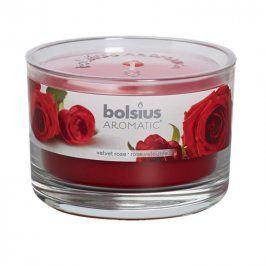 Svíčka ve skle Růže
