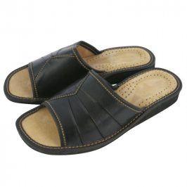 Dámské domácí pantofle černé vel. 36