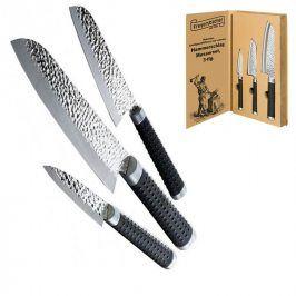 Sada ocelových nožů v dárkovém balení, 3 ks STONELINE WX-15343