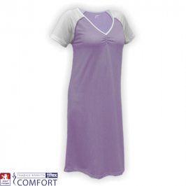 Dámská funkční noční košile Juska fialová vel. 4XL