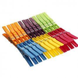 Plastové kolíčky na prádlo EXTRA 24 kusů