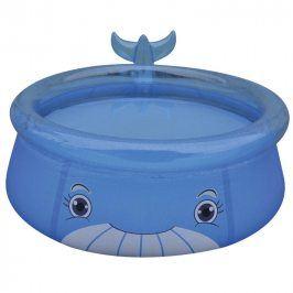 HAPPY GREEN Nafukovací bazén velryba 175x62 cm