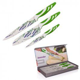 BANQUET 3 dílná sada nožů s nepřilnavým povrchem, LAVENDER