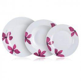 BANQUET Porcelánová sada talířů PURPLE 18 dílů