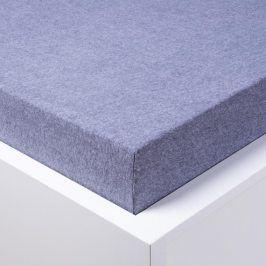 STANEX Napínací froté prostěradlo Melír šedé 90 - 100 x 200 cm