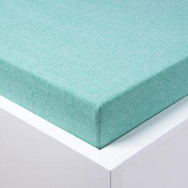 STANEX Napínací froté prostěradlo Melír zelené 180 x 200 cm