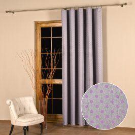 Žakárový závěs Monica klasické okno