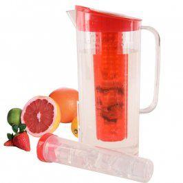 Orion Plastový džbán s vložkou na led a ovoce