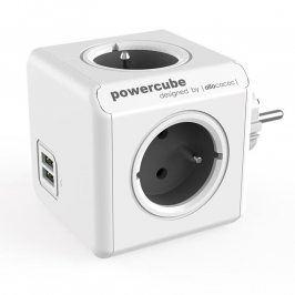 Rozbočovač PowerCube Original USB šedý