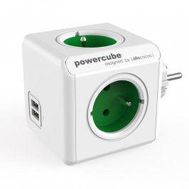 Rozbočovač PowerCube Original USB zelený