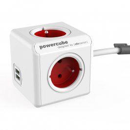 Rozbočovač PowerCube Extended USB červený