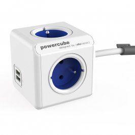 Rozbočovač PowerCube Extended USB modrý